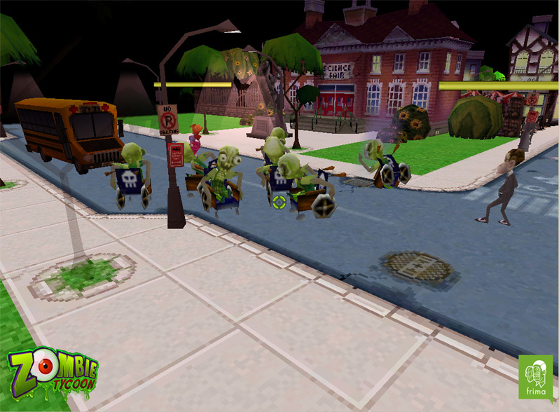 Zombie tycoon scares psp owners in time for halloween