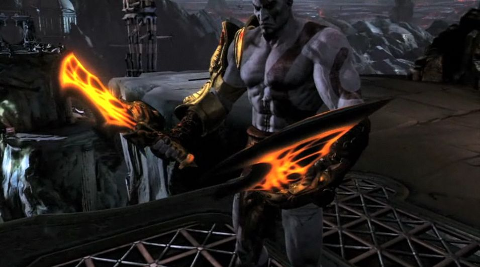 God Of War 3 Blades Of Exile Blades of Chaos - Play...