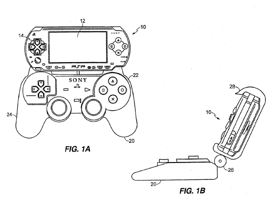 sony patents a new way to control the psp