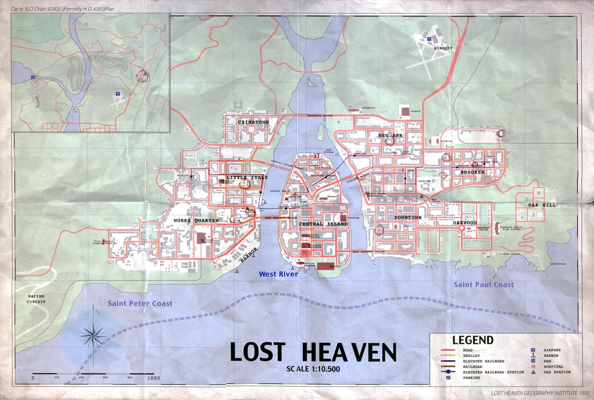 Familiarize Yourself With Mafia II's Map on call of duty 2 map, the sims 3, mass effect 2, the darkness, lord of the rings online map, mario 2 map, mercenaries 2 world in flames map, mafia ii wanted poster locations, manhunt 2 map, hearts of iron 3 map, just cause 2 map, metal gear solid 2 map, grand theft auto iii, la noire map, the getaway, dragon's dogma map, halo 2 map, neverwinter nights 2 map, the godfather 2 map, red dead revolver, mafia 3 trailer, kyrat far cry 4 map, fallen angel sacred 2 map, medal of honor, gta 4 map, gta 5 map, saints row 2 map, the elder scrolls v: skyrim, the godfather: the game, scarface: the world is yours, far cry 2, mafia: the city of lost heaven, red dead redemption,