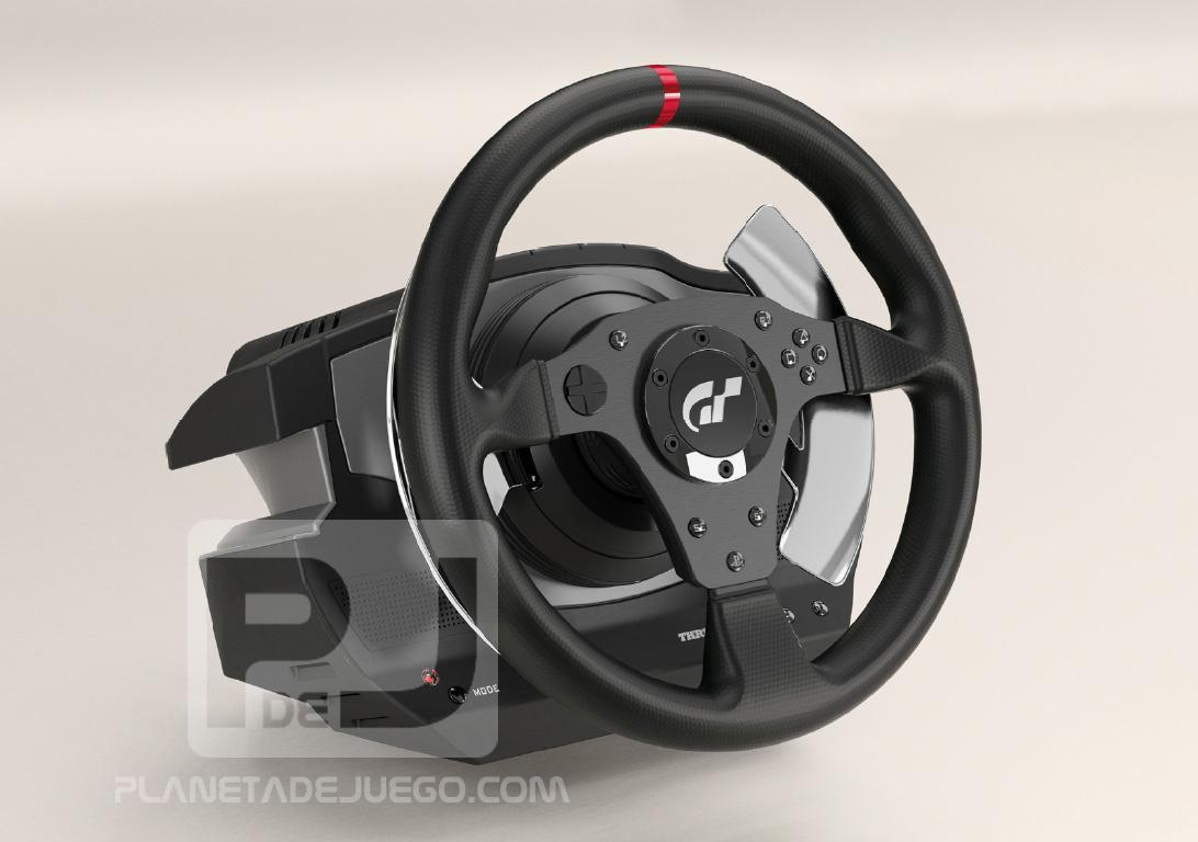 thrustmaster t500rs adds the gran to gran turismo. Black Bedroom Furniture Sets. Home Design Ideas