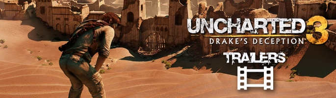 Uncharted 3: Drake's Deception Trailers