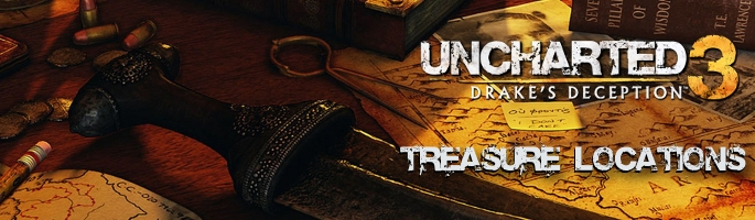 Uncharted 3 - Treasure Locations Guide - Trophies