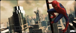 Spidey Overlooking Manhattan