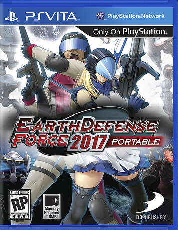 Earth defense force ps vita trophies