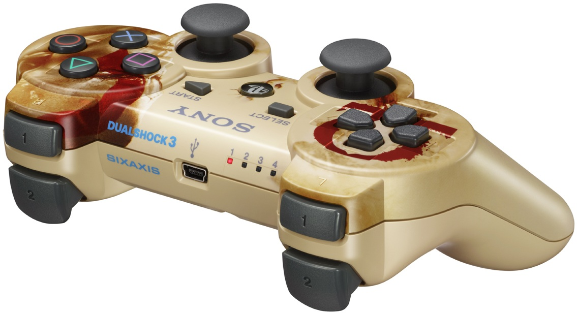 God of War DualShock 3 is Coming Out Next Year...in Japan