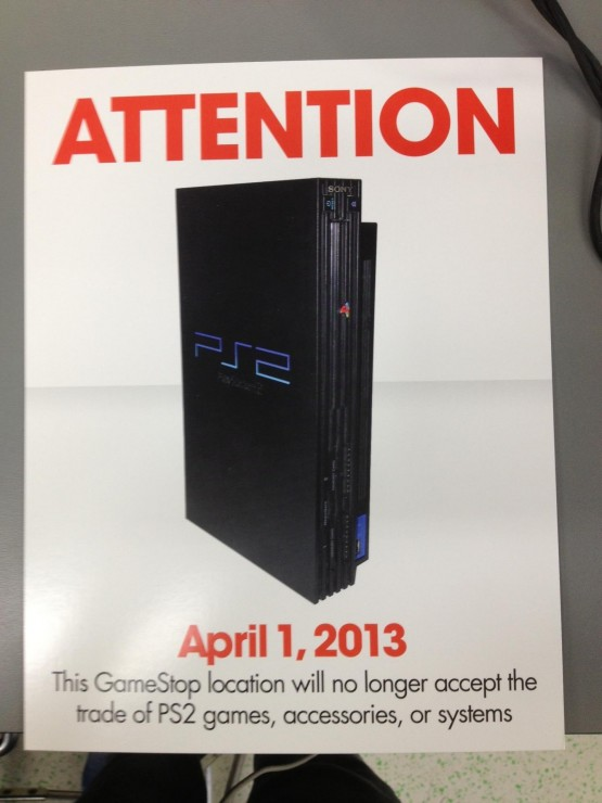 Sell Games For Ps2 : Looks like gamestop won t be accepting trade ins on