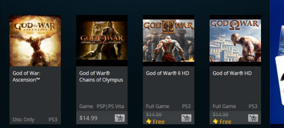 God Of War 1 2 Hd Not Slated For Us Playstation Plus At This