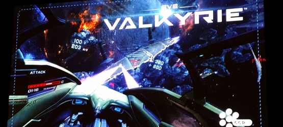EVE Valkyrie off screen