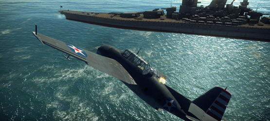 War Thunder Battleship
