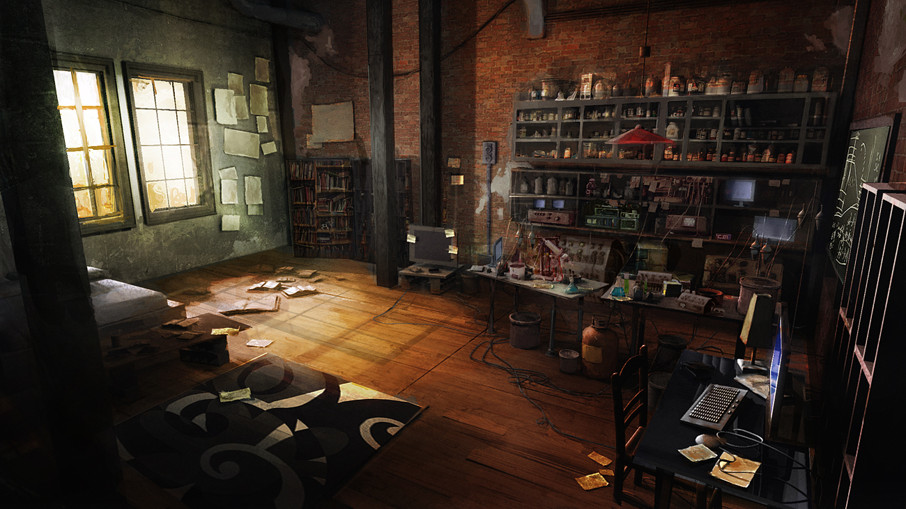 The amazing spider man fan and concept art playstation for Chambre 13 film