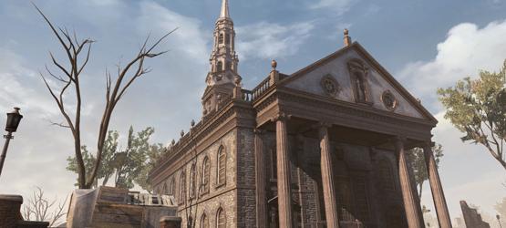 Assassins Creed 3 - St Pauls Chapel