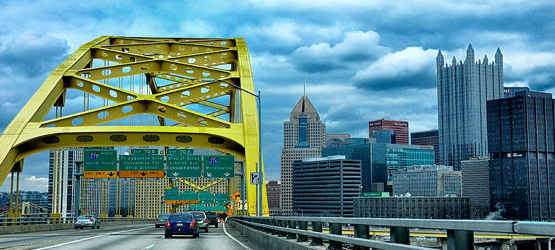 Pittsburg - Fort Pitt Bridge