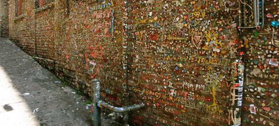 Seattle Washington - Gum Wall