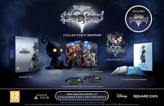 kingdomhearts25hdremixcollectorsedition