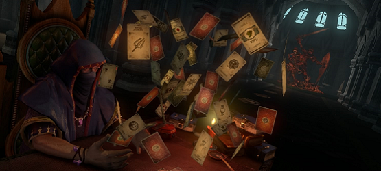 Hand of Fate review header