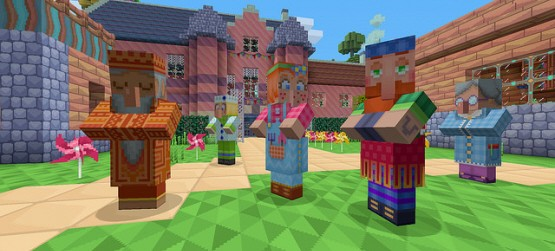 Minecraft Update On Ps4 Ps3 Ps Vita Available Now Adds Dlc