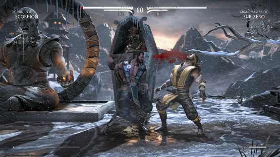 MKX fight