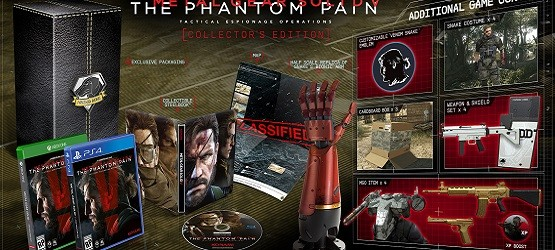 MGS V The Phantom Pain Collector's Edition
