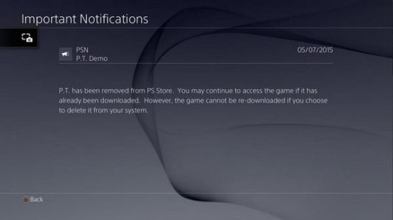 PT PSN Notification