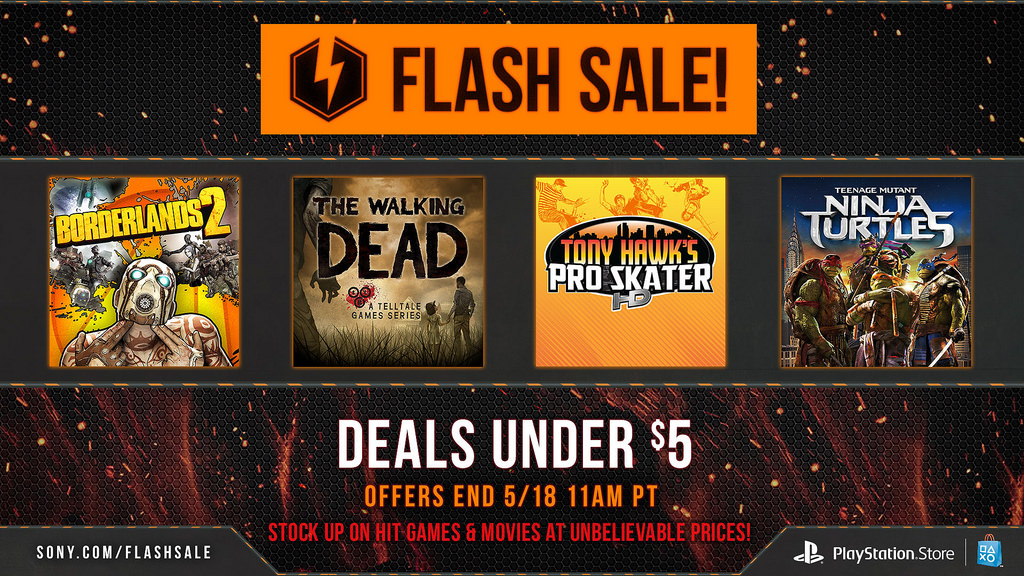 Flash Games For Ps3 : Psn flash sale now live in north america discounts games