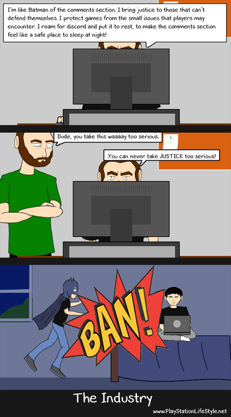 The Industry Webcomic Issue 7 - BatCrazy