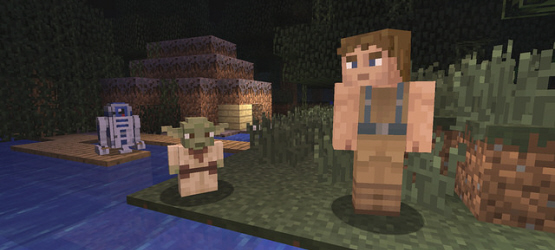 Minecraft Update Today on PS4, PS3 & PS Vita Adds Star Wars DLC