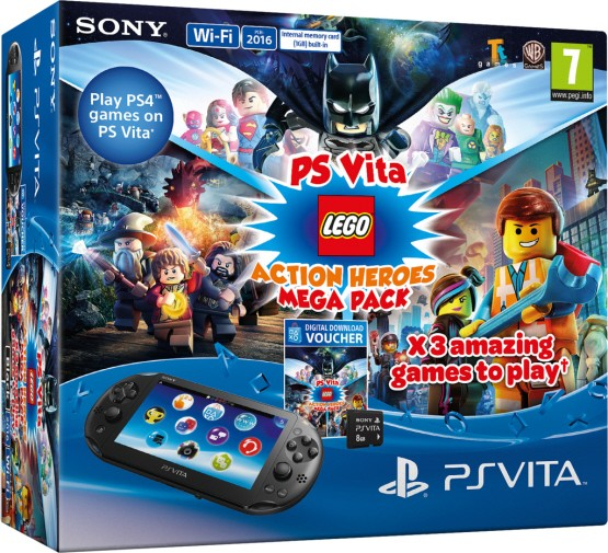 New Lego Games For Ps3 : New playstation vita bundles coming to europe this fall