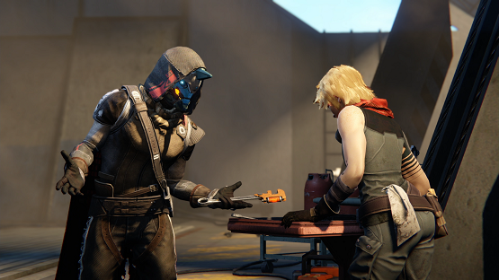 Destiny The taken King Cayde-6 and Holloway