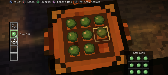 minecraft story mode crafting table