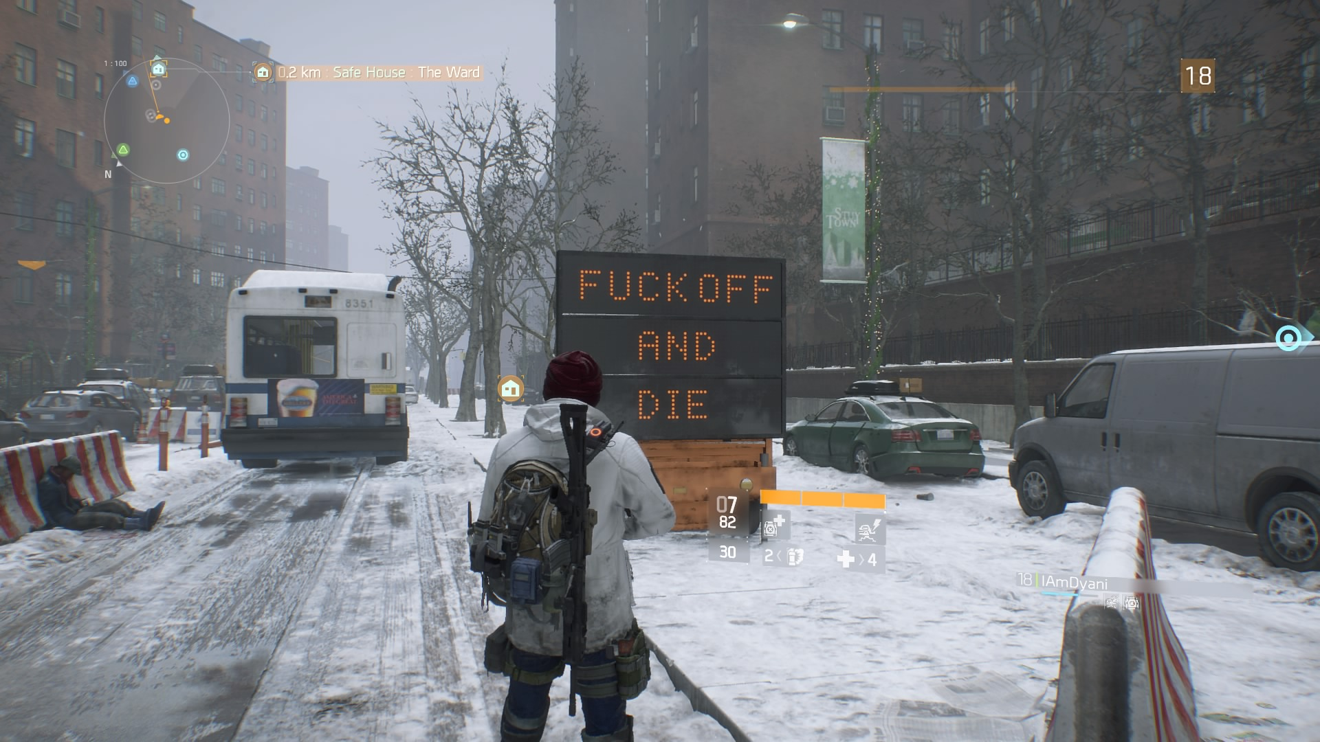 tom clancy 39 s the division review worth the wait ps4. Black Bedroom Furniture Sets. Home Design Ideas