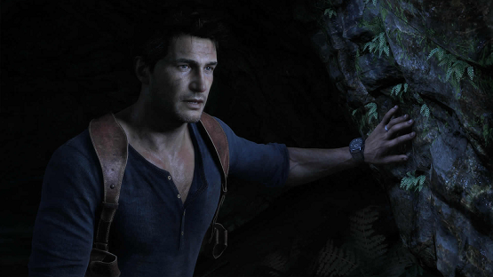 Here s a picture of nathan drake gazing upon the spoilers that are