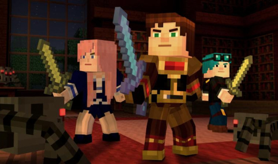 Minecraft Story Mode Season 2 Episode 1 Rated