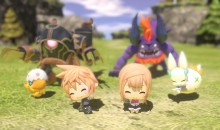 World of Final Fantasy Gameplay