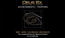 Deus Ex Mankind Divided Trophy List