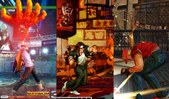 The King of Fighters history