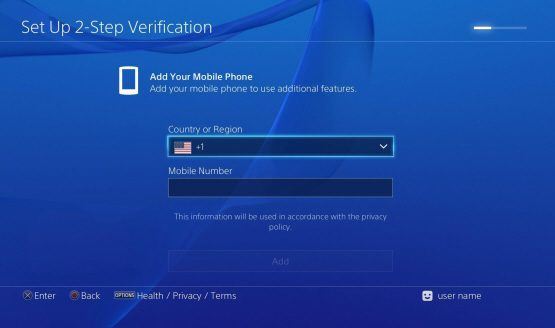 Finally, you can add 2-Step Verification to your PlayStation account
