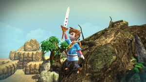 Oceanhorn has the habit of going from pretty to hideous.
