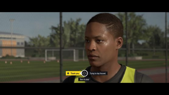 FIFA 17 The Journey (In Menus)