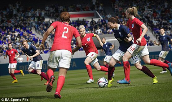 FIFA 17 trophies - women's teams