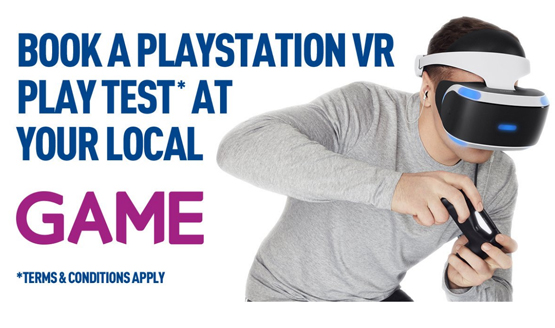GAME PlayStation VR Trial