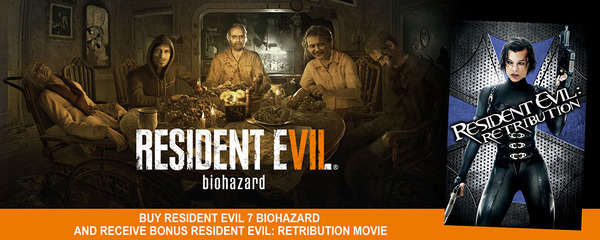 Resident Evil 7 Pre-Order Now Includes Bonus for Resident Evil Movies