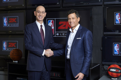 NBA and Take-Two Create the NBA 2K eLeague