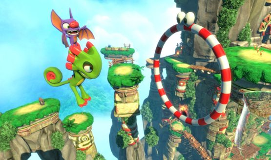 Yooka-Laylee's Day One Update Will Improve Performance, the Camera