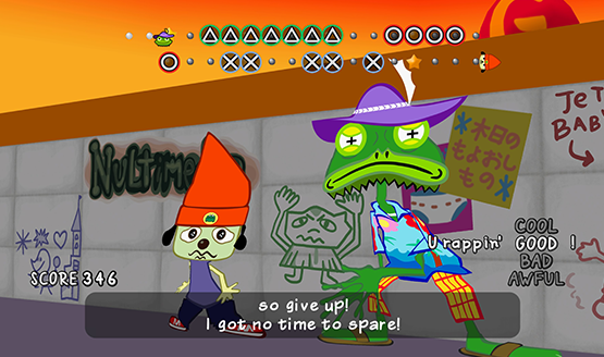 PaRappa the rapper Remastered Review 2