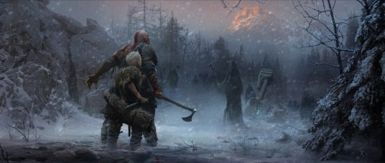 God of War Concept art