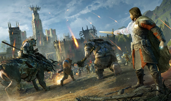 middle earth shadow of war e3 2017 2