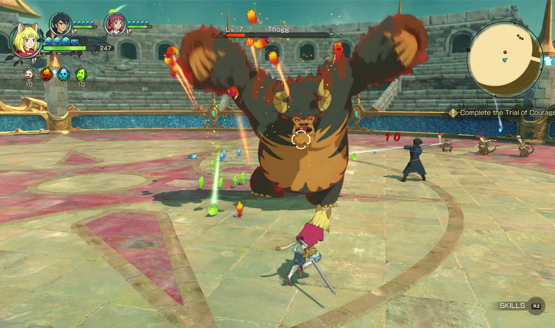 Ni No Kuni II's Gamescom 2017 Trailer Focuses on Gun-wielding Roland