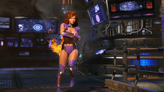 Here's Your First Look at Starfire in Injustice 2