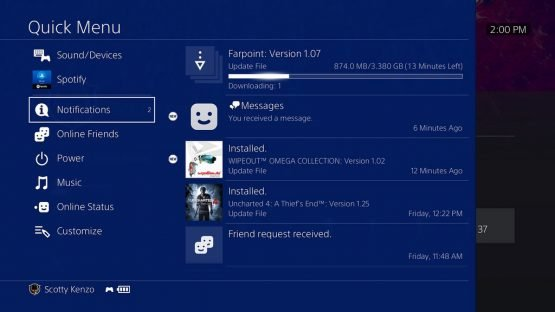 PS4 Update 5.0 Contents Officially Confirmed